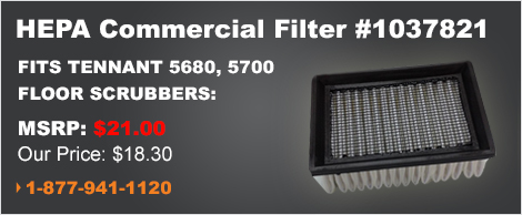 HEPA Commercial Filter for Tennant 5680 & 5700